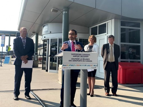 Edmonton airport gets nearly $25M in funding to cover pandemic losses