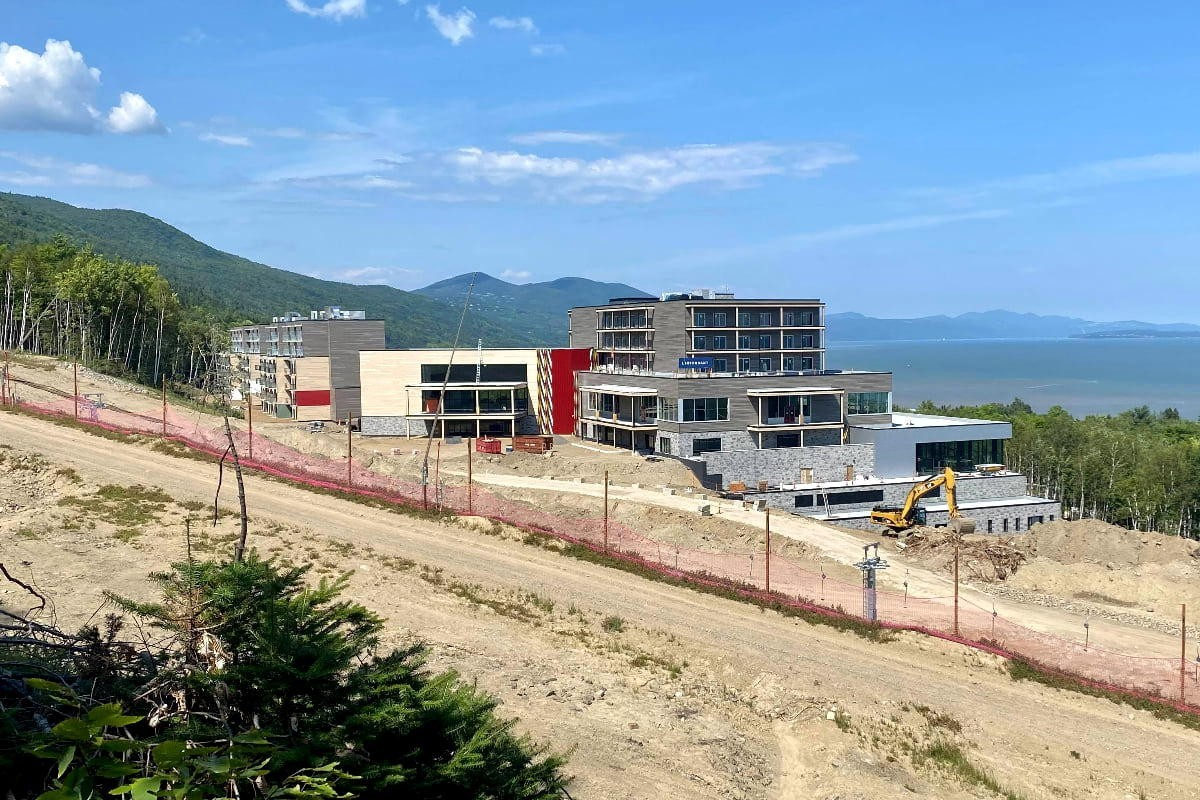 PHOTOS: Exclusive looks at the nearly-completed Club Med Quebec Charlevoix
