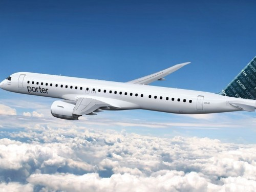 Porter signs support agreement with Embraer ahead of NA expansion