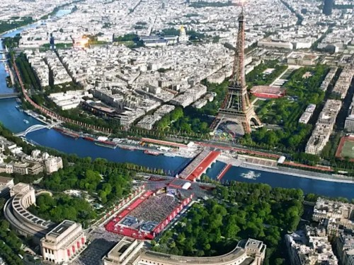 Paris takes torch from Tokyo for 2024 Summer Olympic/Paralympic Games