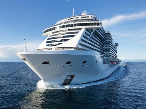 MSC Seashore welcomes first guests for inaugural voyage in Mediterranean