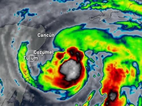 Hurricane Grace hits Mexico's Yucatan Peninsula near Tulum