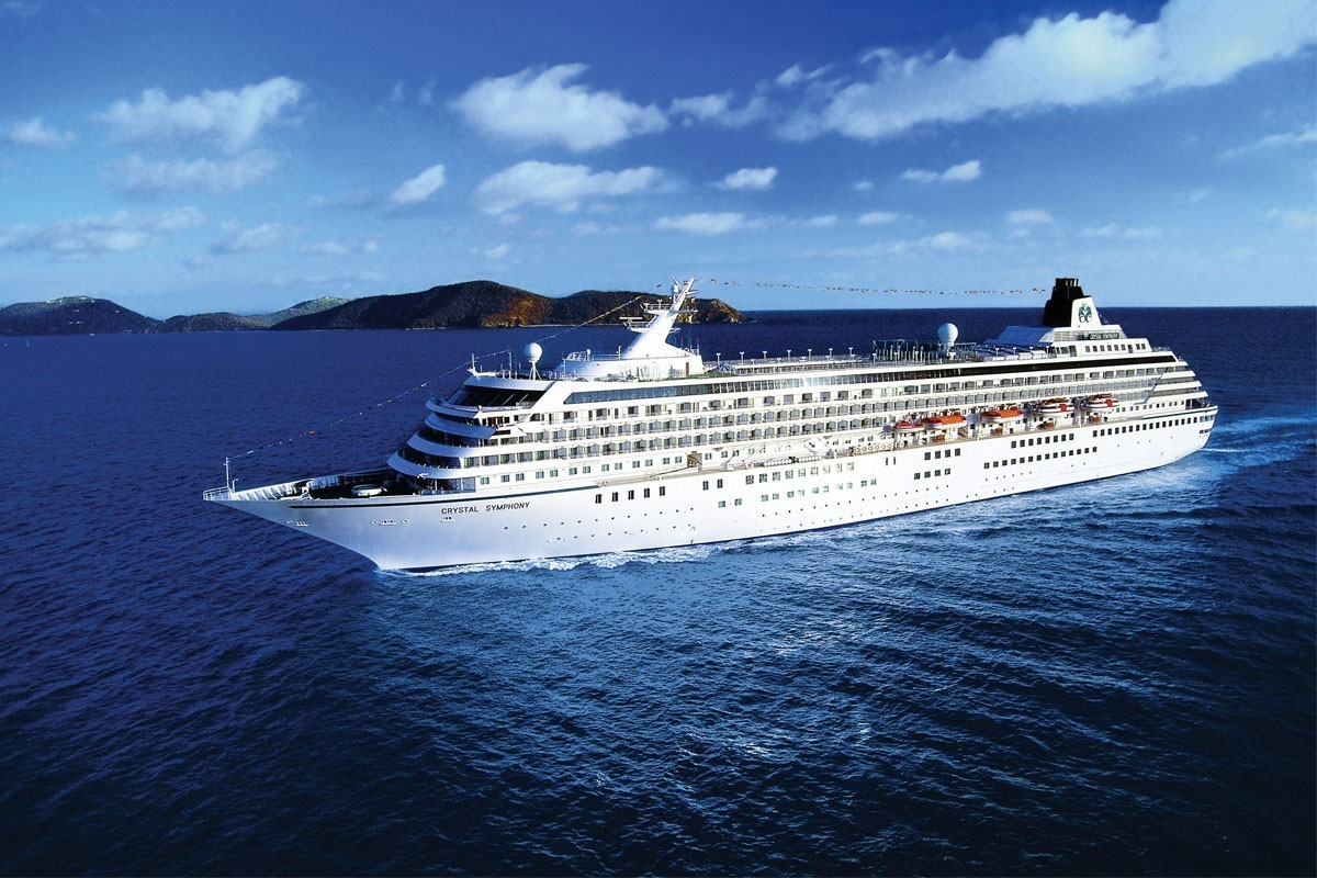 Cruising resumes out of Boston with Crystal Symphony Bermuda voyages