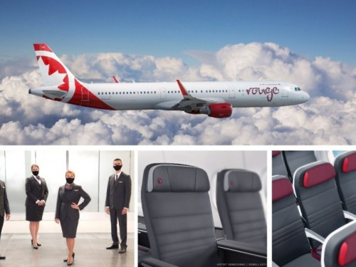 AC Rouge returns with upgrades; flights from YYZ to Vegas, Orlando, Tampa, Cancun offered