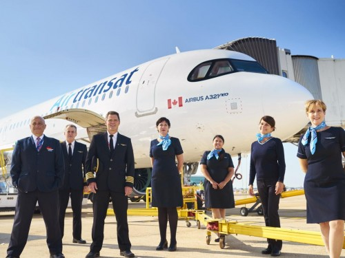 Air Transat resumes flights from the U.K. to Canada