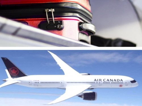 Air Canada installs automated carry-on baggage sizers