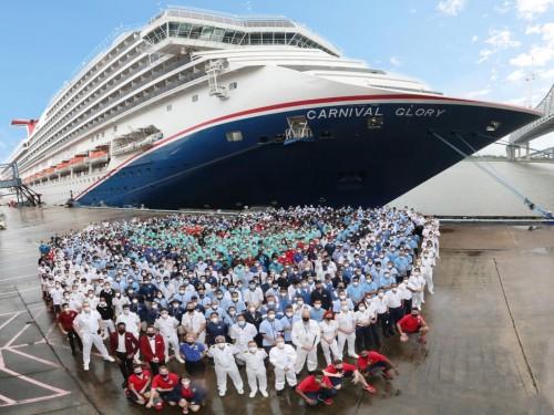 Half of Carnival's U.S. fleet is now sailing again