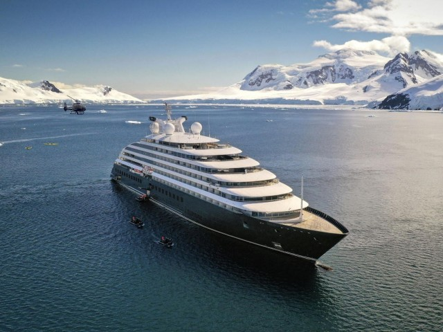 Scenic Eclipse to recommence luxury Antarctica voyages in Jan. 2022
