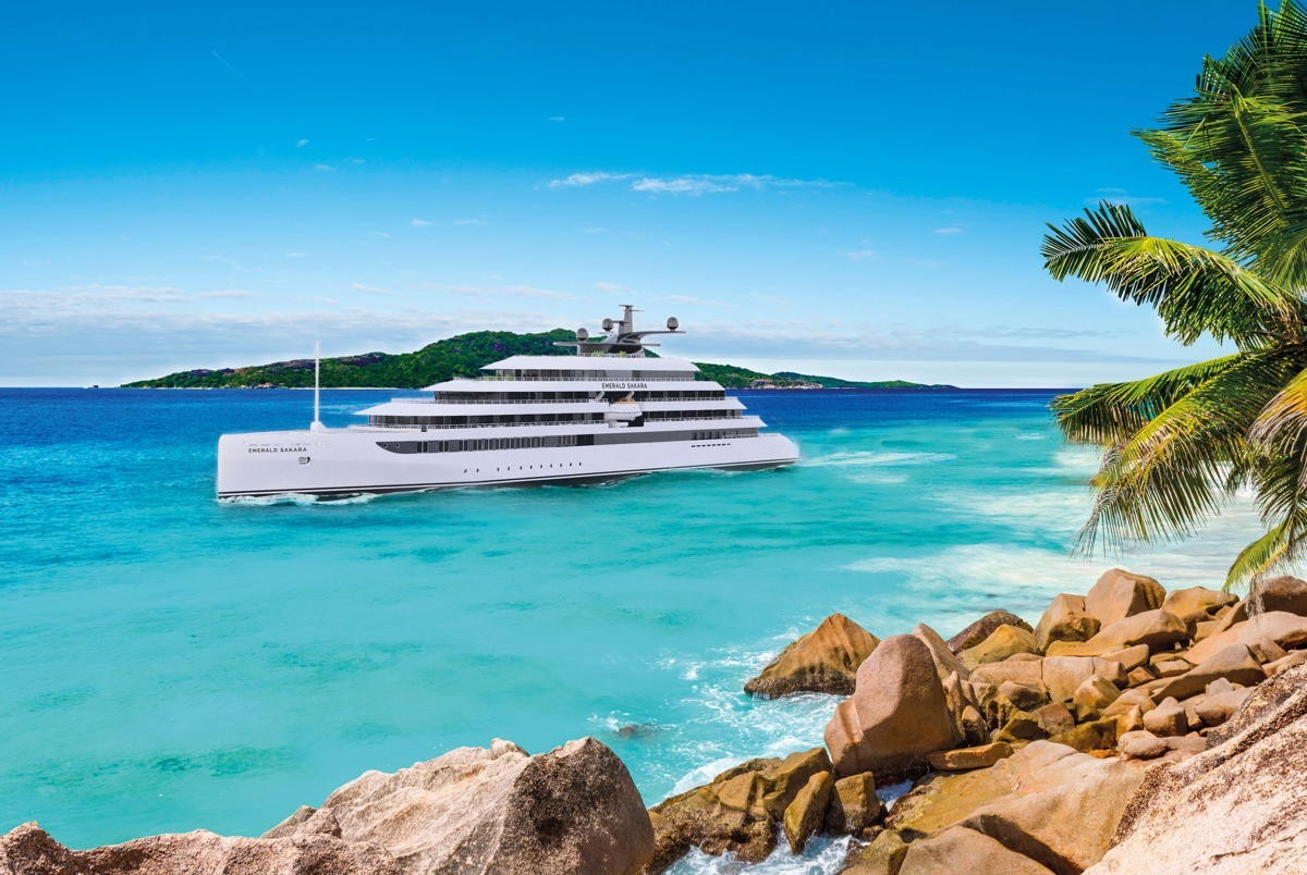 "Emerald's second superyacht, ""Emerald Sakara,"" to launch in Q1 2023"
