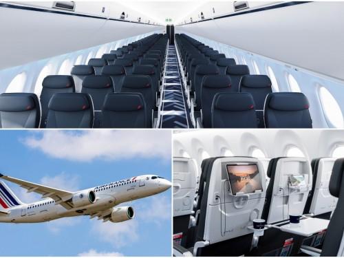 PHOTOS: Air France unveils first Airbus A220-300