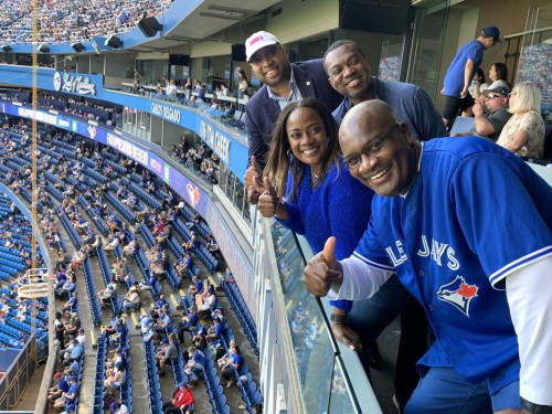 """""""Business is very robust"""": Talking travel with the JTB at a Toronto Blue Jays game"""