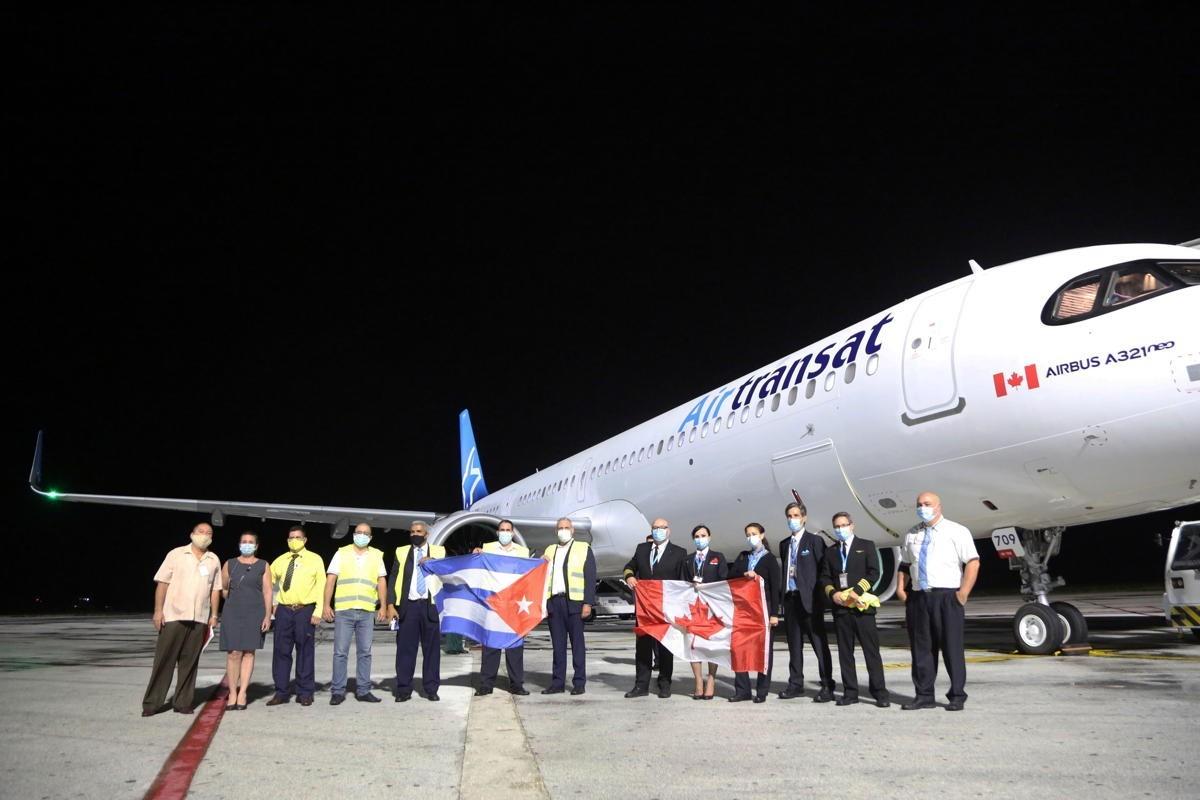 "Air Transat resumes Cuba flights, launches ""Keep Palm & Travel On"" promo"