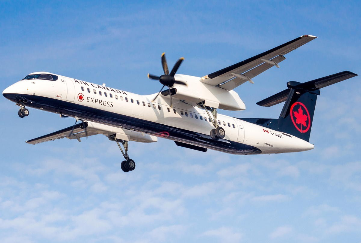 Air Canada starting service between Toronto Billy Bishop & Ottawa on Oct. 31