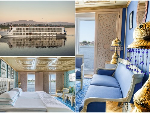 PHOTOS: First looks at Uniworld's S.S. Sphinx on the Nile River in Egypt