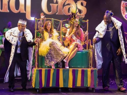 Carnival christens Mardi Gras in 1st naming ceremony in U.S. since industry restart
